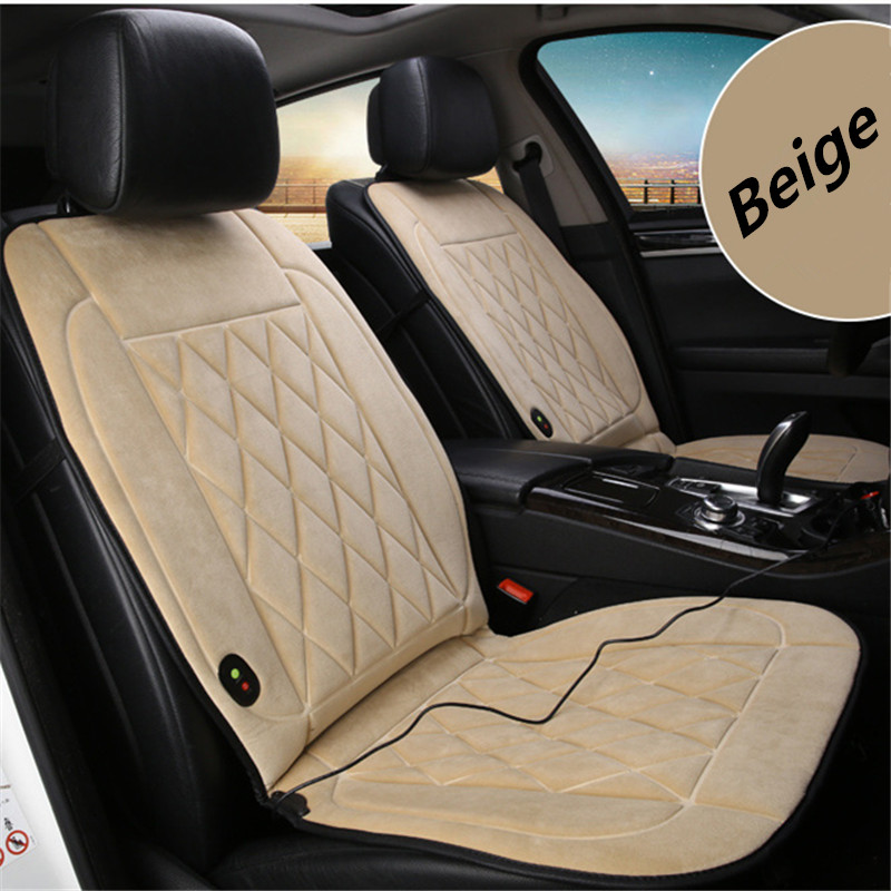 Image 2 - 1 pieces 12V Heated Car Seat Cushion  Innovative Technology New Winter Car Heating Cushion Even More Comfortable Heating-in Automobiles Seat Covers from Automobiles & Motorcycles