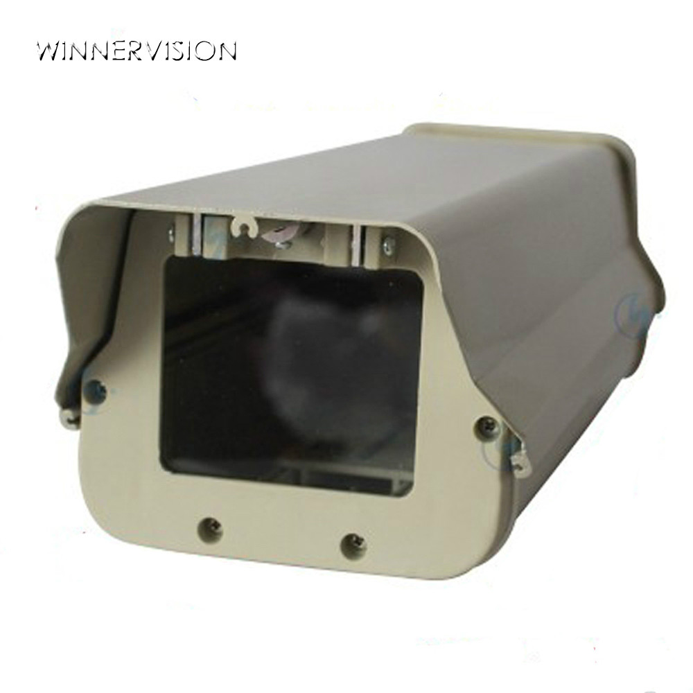 12inch Outdoor Indoor Waterproof Camera Case Housing Aluminium alloy Protect Shell Case 370x140x110mm & Antidust cctv camera waterproof outdoor housing array led light cctv camera aluminium alloy metal case cover