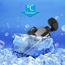 Cnc 알루미늄 합금 프레임 열 냉각 보호 커버 케이스 브래킷 어댑터 하우징 dji osmo 포켓 짐벌 카메라