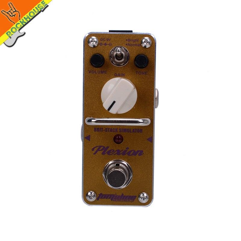 AROMA APN-3 Crunch Distortion High gain Guitar Effects Pedal Marshall Plexi AMP Simulator British Rock Brown Sound True Bypass