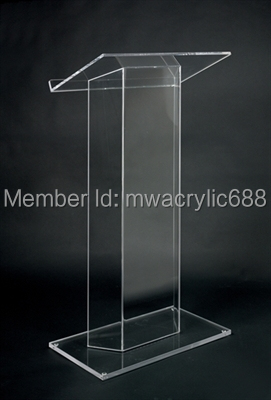 Free Shiping High Quality Cheap Clear Acrylic Lectern