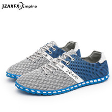 New Breathable Mesh Shoes Men Casual Lightweight Shoes Fashion Design Sneaker tenis masculino adulto Male Casual Flat Shoes