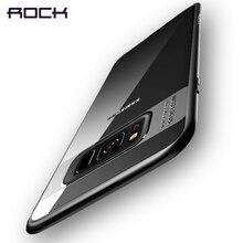 Для Samsung Galaxy S8 случае rock полный защитный тонкий ТПУ и акриловый прозрачный чехол для Samsung Galaxy S8 Plus