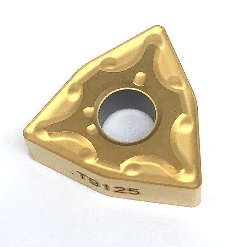 Tungaloy WNMG080404 WNMG080408 MA T9125 Carbide Inserts External Turning Tool WNMG 080408 Lathe Tools CNC Tool Free Shipping