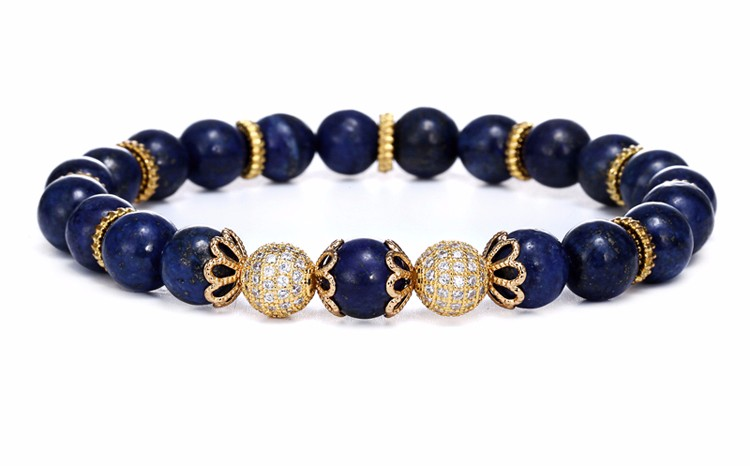 Blue Turquoise Beaded Bracelets