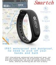 Smartch E26 умный Браслет услышать Rate Monitor крови Давление Smart группа крови кислорода спорт браслеты активности фитнес-трекер