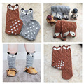 Chaussette Haute Enfant Totoro Lindo Fox Kids Calcetines de Invierno Caliente calcetines Oso de Dibujos Animados de Primavera Niñas Rodilla Altos Calcetines Del Bebé de Largo calcetines