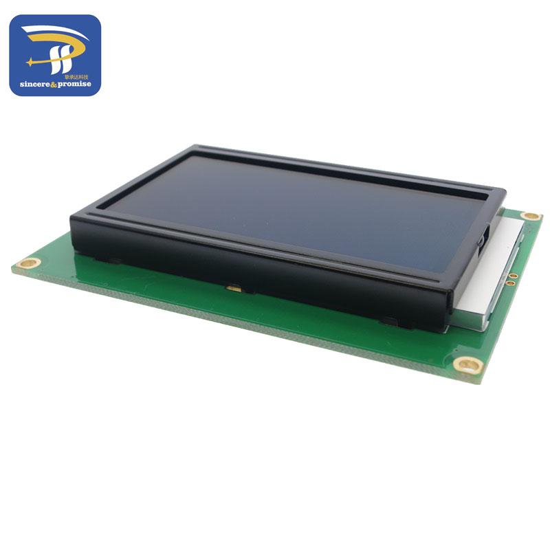 жк-дисплей доска 12864 128x64 точек 5 в st7920 синий экран жк-дисплей модуль для Arduino для 100% новый оригинальный