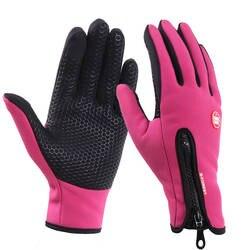 Высокое качество сенсорный экран ветрозащитный перчатки для верховой езды дышащий Конный перчатки унисекс обновление перчатки для