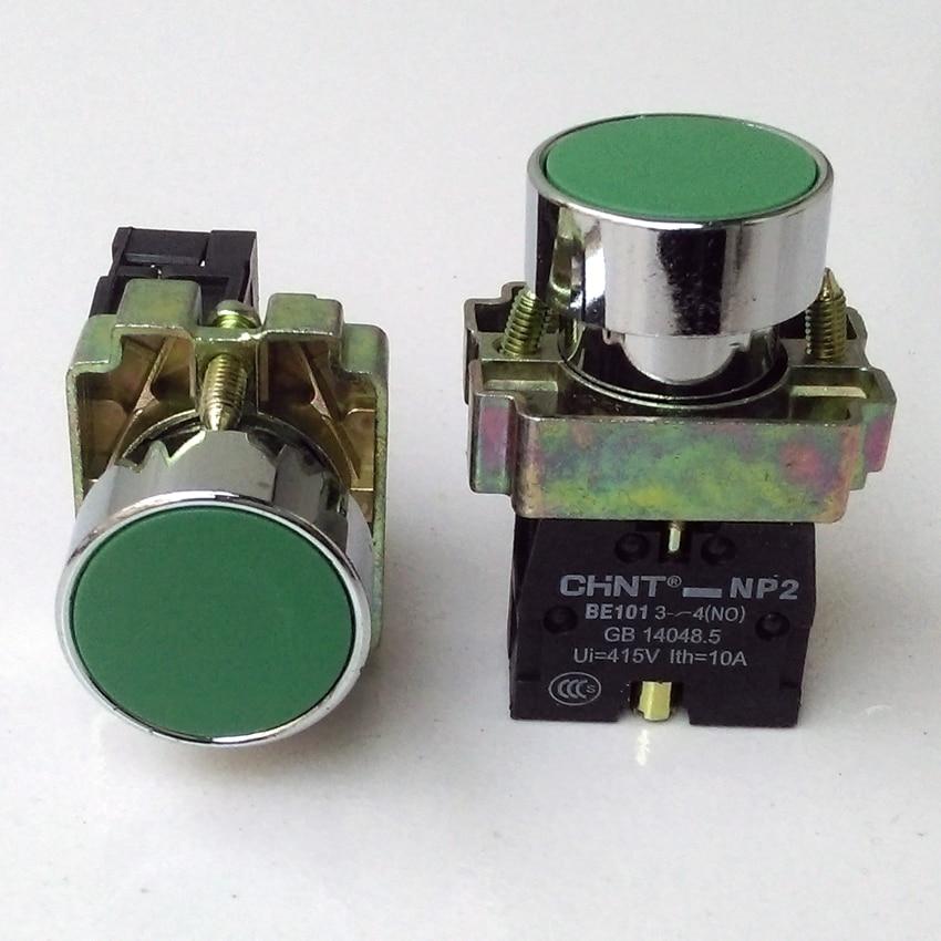 Chint BLACK PUSH BUTTON 22mm