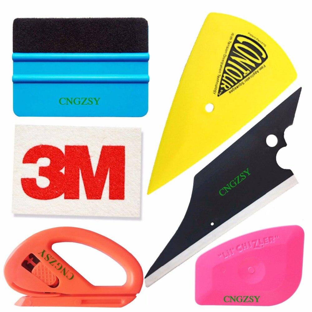 BULLAUTO Economy Combo Pro Tool kit Car Vinyl Wrap Squeegee Tools
