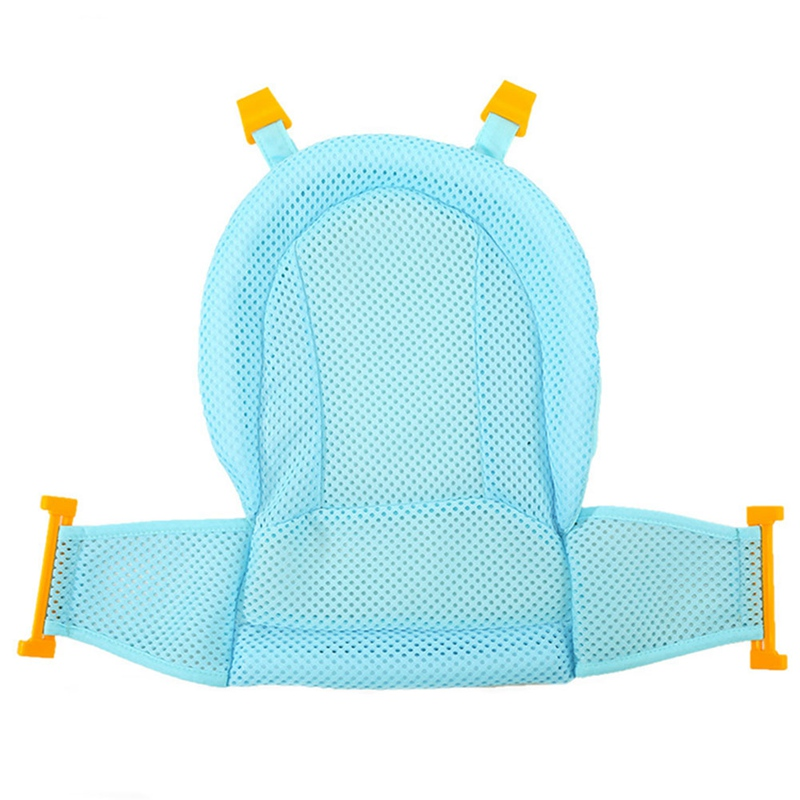 Uteruik Baby Bath Tub Ring Seat Infant Child Toddler Kids Anti Slip Safety Security Chair Non-slip Baby Care Bath Accessory Blue 1pcs