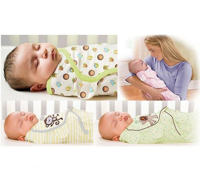 Nouveau-né bébé swaddle wrap parisarc 100% coton doux infantile produits bébé nouveau-né Couverture et L'emmaillotage Wrap Couverture Sleepsack