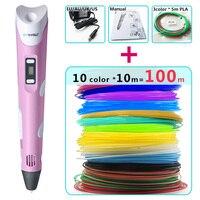 Myriwell 3d Pen 10 Colour 10m ABS Filament 100m 3 D Pen 3d Model Smart Perfect