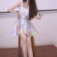Harajuku Korea Colorful Skirt Fashion Casual Skirt
