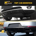 Free Shipping  TOP Car-modified carbon fiber front and rear skid plate for porsche macan  (2014' up)