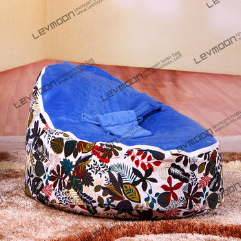FREE SHIPPING baby bean bag with 2pcs ocean blue cover baby bean bag seat cover baby bean bag chair baby bean bags 2016 hot baby beanbag with filler baby bean bag bed baby beanbag chair baby bean bag seat washable infant kids sofa cp10