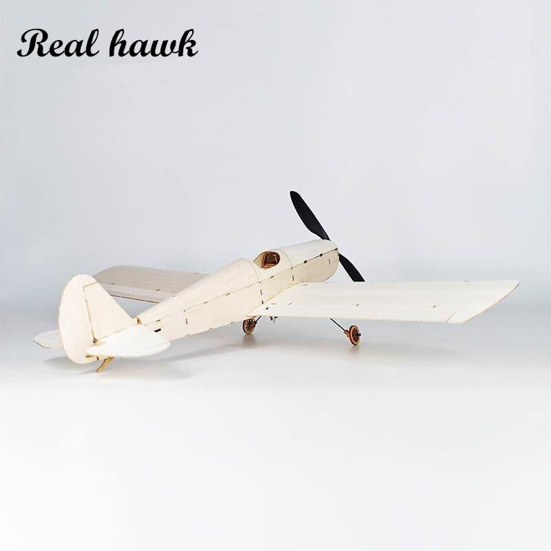 MininimumRC Vliegtuig Laser Cut Balsa Houten Vliegtuig Kit - Radiografisch bestuurbaar speelgoed