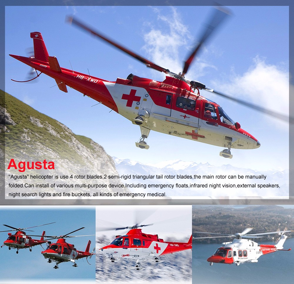 RC Led 海兵ヘリコプタージャイロ飛散防止 S111G 3