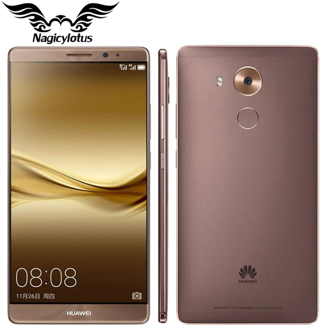 "Original de huawei mate 8 4g lte teléfono móvil kirin 950 octa core android 6.0 6.0 ""fhd 4 gb ram 64 gb rom 16.0mp 1920x1080 touch id"