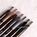 Seven color  2016 Eyebrow Enhancer hit the  of ink double automatic  eyebrow pencil natural brown  ABH eyebrow makeup brush