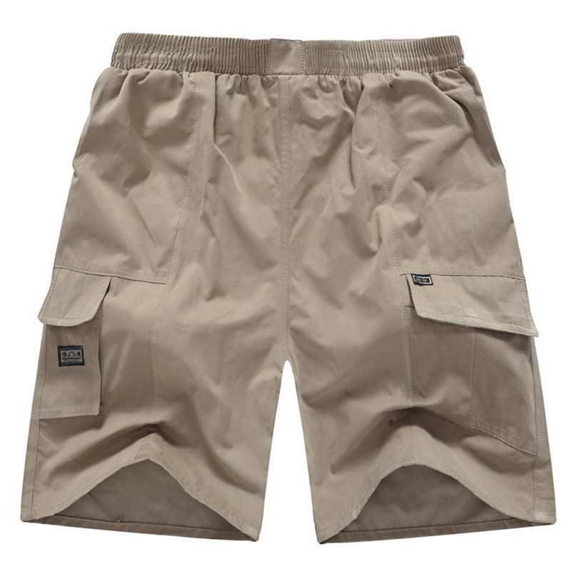 2019 Plus rozmiar spodenki na co dzień męskie lato jednolity kolor spodenki luźne plaża luźne masculina biegaczy znosić krótkie spodnie Homme
