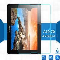 For Lenovo A7600-F Tab A10-70 Tempered Glass Screen Protector 2.5 9h Safety Protective Film on Tab A7600 A 7600 10.1inch