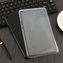Мягкая силиконовая Резина ТПУ задняя крышка для huawei MediaPad T3 8 8,0 KOB-L09 KOB-W09 Honor Play Pad 2 чехол для планшета+ стилус