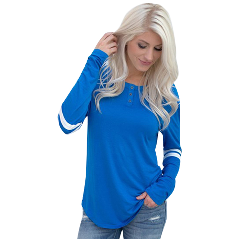 Buy new 2017 fashion blue white female t for White female t shirt