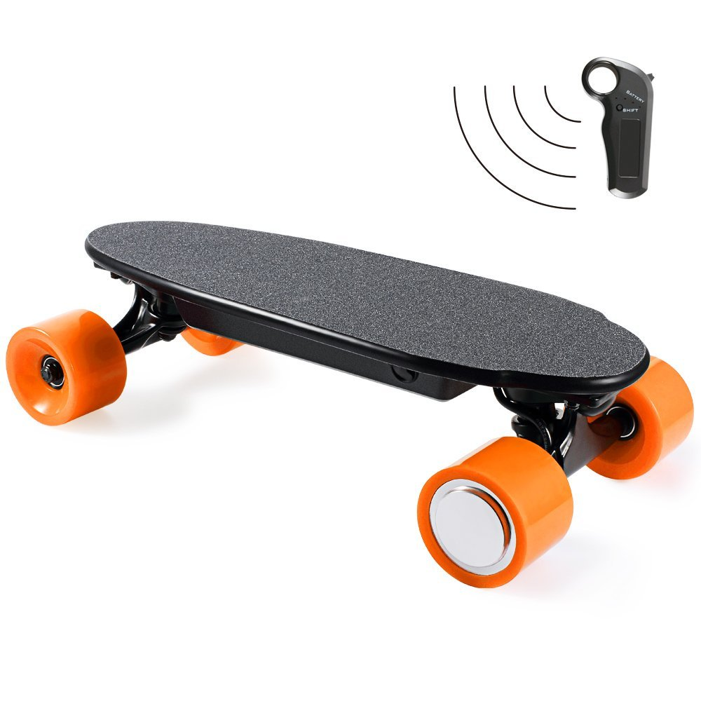 Four Wheels Mini Electric Skateboard 150W Single Motor E-Skateboard Scooter with Wireless Bluetooth Remote Controller for Kids economic multifunction 60v 500w three wheel electric scooter handicapped e scooter with powerful motor