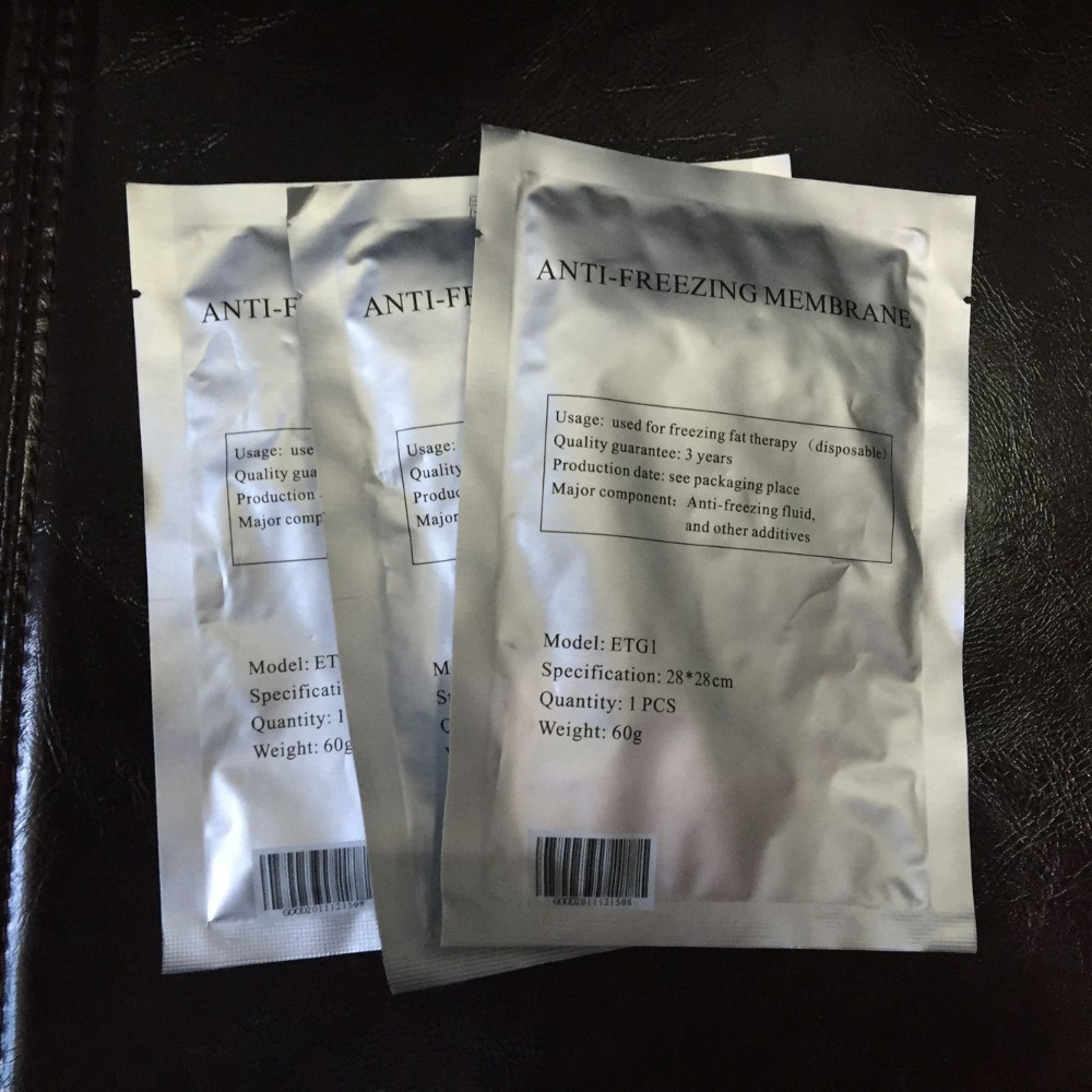 New 30pcs Antifreeze Membranes Pad Patch 28*28cm For Cool Body Fat Burn Machine