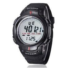 Горячая часы Водонепроницаемый Спорт на открытом воздухе Для мужчин цифровой светодиодный кварцевые сигнализация наручные часы BK Lovers Fashion, Повседневное светодиодный электронный