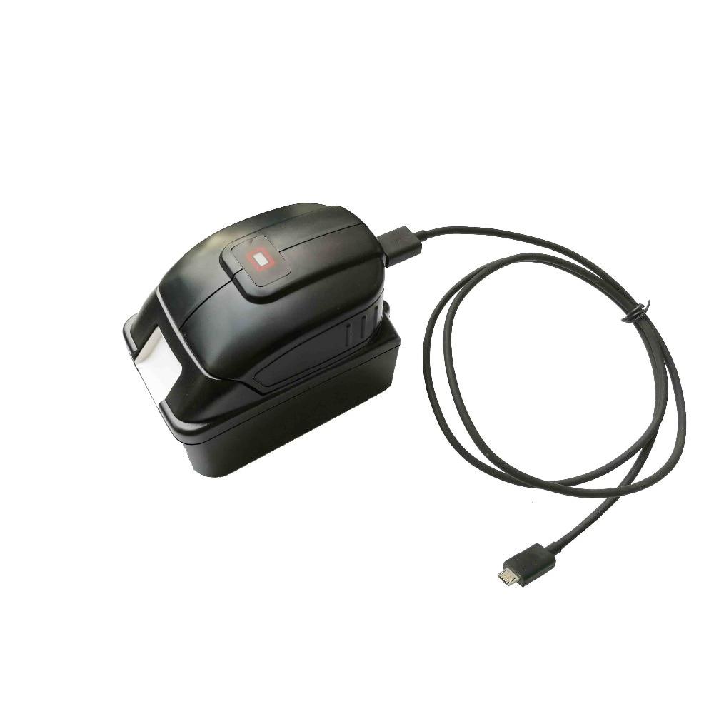 Замена Dual-USB источник питания для Makita ADP05 ADP06 BL1430 BL1830 сотовый телефон зарядное устройство преобразователь питания