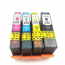 Vilaxh Ink Cartridge with chip For HP 655 For HP655 C M Y BK For HP Deskjet 3525 4615 4625 5525 6520 6525 6625 запчасти для принтера boma cn688 cn688a hp 688a hp 3070 3525 cr280a 5510 4610 4615 4625 5525 6510 6515 6520 6525