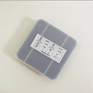 Image 2 - 100 stücke Monokristalline solar zellen 0,5 v 3,07 watt/stücke Hohe qualität effiencicy 5x5 Photovoltaik zelle für diy Mono Solar panel 300 watt