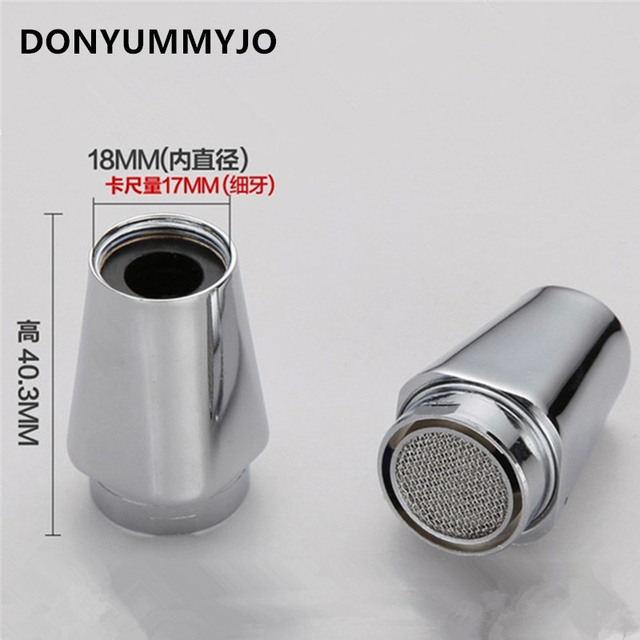 Water Saving Faucet Aerator 18mm Inner Wire Bubbler Thread Eco ...