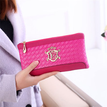 Women's Messenger Bags New Women Weave Pattern Wallet Shoulder Messenger Bag Handbag Multi Functional Clutch