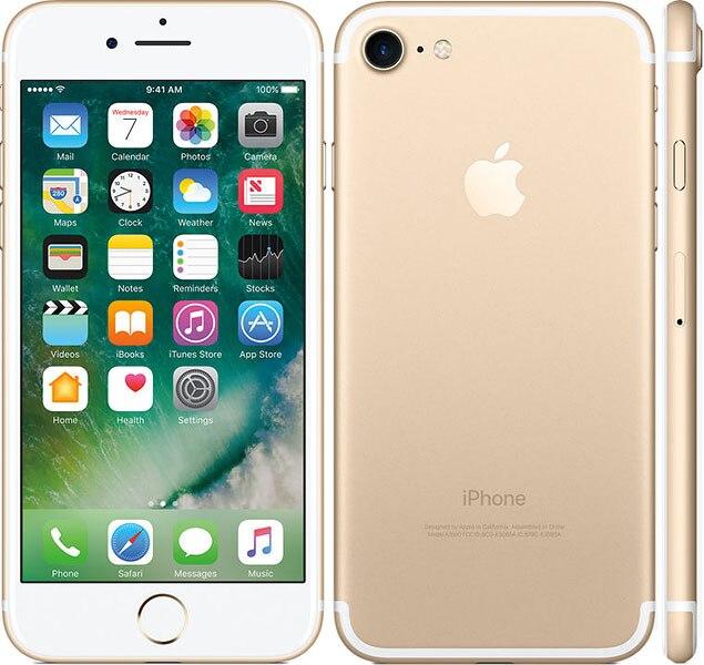 Venda quente Desbloqueado Original Da Apple iPhone 4 7G LTE Cell Phone 32/128 GB/256 GB IOS 10 12.0MP Câmera Quad Core Impressão Digital 12MP - 3
