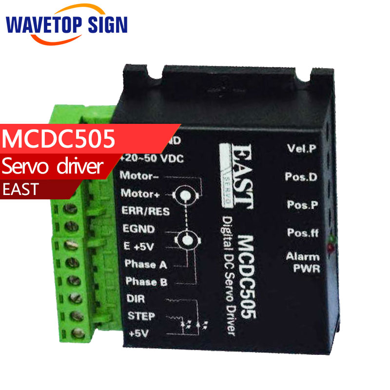 EAST  DC SERVO DRIVER MCDC505 printer machine dc servo motor driver mcdc505 dc servo drive can instead of leadshine db810 servo driver