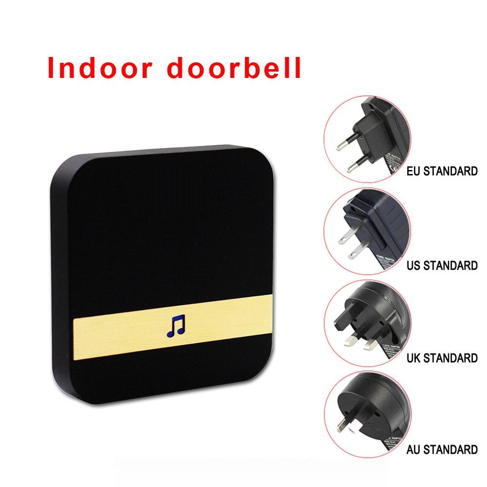 Visual Doorbell Chime Wifi US EU Plug Smart Indoor Doorbell Receiver For Smart Wireless DoorBell Remote ControlVisual Doorbell Chime Wifi US EU Plug Smart Indoor Doorbell Receiver For Smart Wireless DoorBell Remote Control