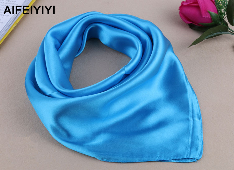 New style pure silk scarf square women Autumn and winter business wear dance decorative gifts multicolor fashion wild scarf