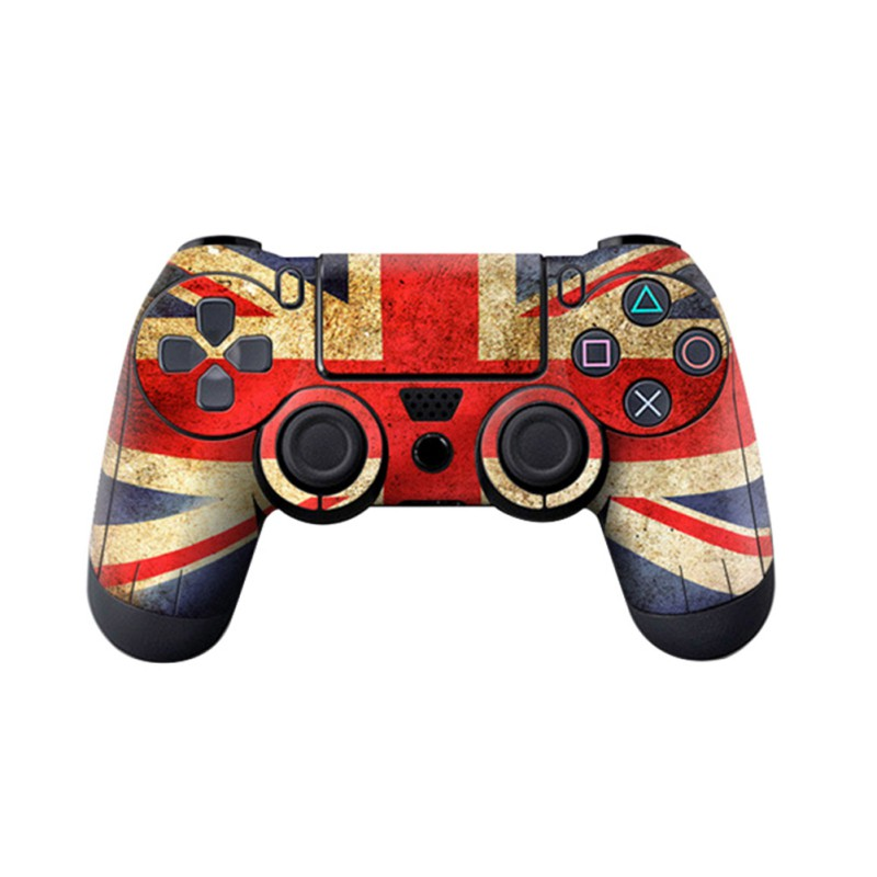 Fashion Game Controller PVC Sticker Protective Case Cover For SONY Playstation 4 PS4 Skin Controller
