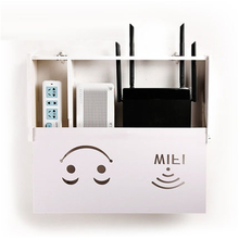 WI-FI маршрутизатор творческая гостиная многофункциональные коллекция стеки полка шкафа гнезда коробки для хранения крышка вешалка