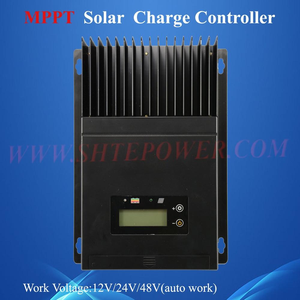 NEW  12V 24V 48V auto 60A MPPT solar charge controller 60amp 12v 24v 36v 48v auto mppt solar charge controller 60a
