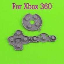 [100 takım/grup] Microsoft Xbox One 360 Kablosuz ve kablolu denetleyici Kauçuk Iletken Kontak Düğmesi D pad Balataları Tamir düzeltme