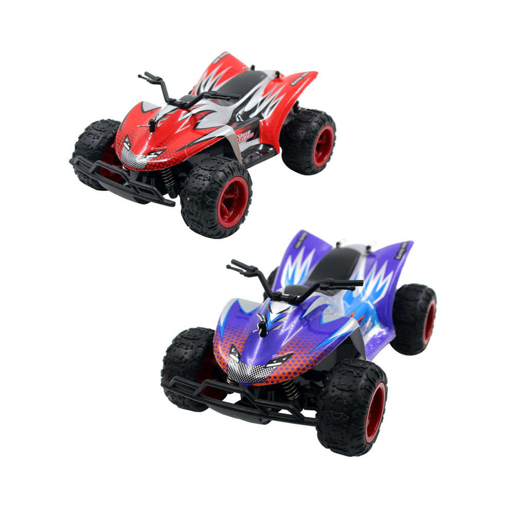 Electric RC Car <font><b>1</b></font>:22 Scale 4WD High Speed <font><b>4</b></font>-Channels 2.4GHz Wireless Remote Control Off-road Car Toy for Kids Children