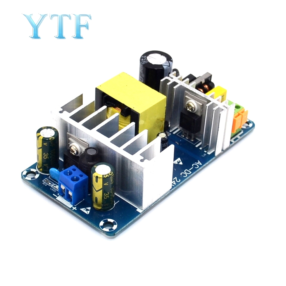 AC 85-265V To DC 24V 4A-6A 100W Switching Power Supply Board Module Overvoltage Overcurrent Circuit Protection