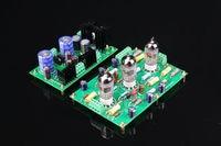 ZEROZONE Assembled 12AX7 E834 RIAA MM Tube phono stage amp + Power supply board L5 36