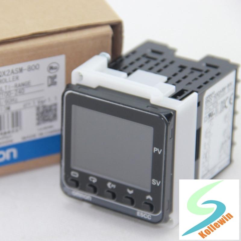1 pc controlador de temperatura e5cc qx2asm 800 omr e5ccqx2asm800 sensor de novo na caixa e5cc