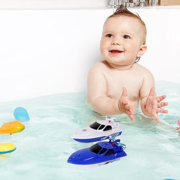 2 uds. Bote de agua eléctrico de dibujos animados, juguete de pulverización de agua, juguete de baño infantil, baño, ducha, bañera, juguetes de juego para niños